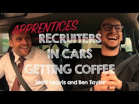 Apprentices In Cars Getting Coffee | Matthew Leavis & Ben Taylor | National Apprenticeship Week 2020
