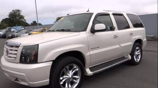 2005 Cadillac Escalade Eureka, Redding, Humboldt County, Ukiah, North Coast, CA 5R105697