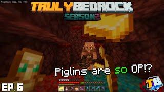 Exploring, Bartering & Mining! | TrulyBedrock Season 2 [#6] | Minecraft Bedrock Edition SMP Server