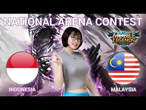 INDONESIA VS MALAYSIA - National Arena Contest Cast by Kimi Hime - 10/03/2018