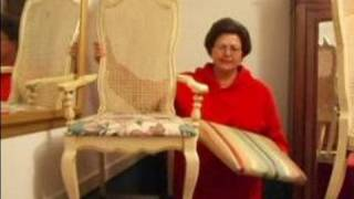 Interior Design For The Dining Room : How To Recover A Chair