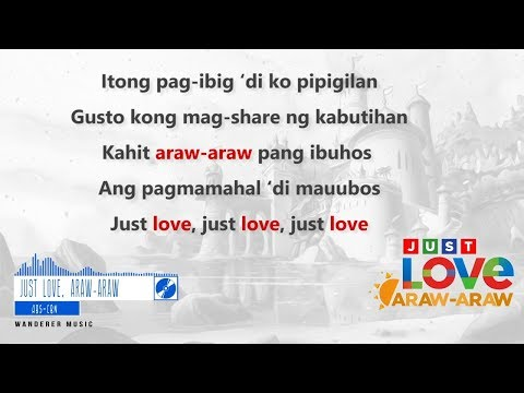Just Love, Araw-Araw - ABS CBN Summer Station ID 2018 (Official Lyrics Video)