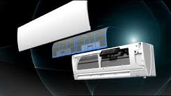 Mitsubishi Deluxe Wall Mounted MSZ-FH Ductless With 3D ISEE Sensor