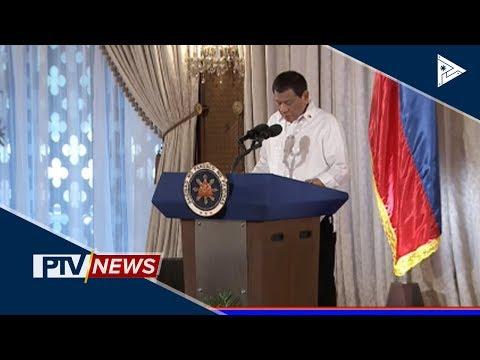 Pangulong Duterte, lumagda sa tatlong bagong batas