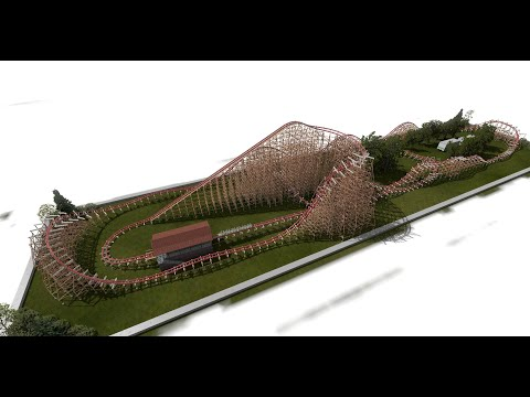 Twisted Timbers : Nolimits 2 Recreation