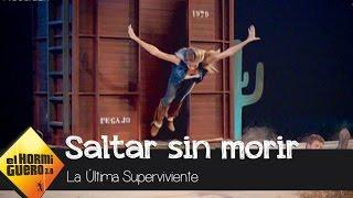 Patricia Montero salta de un tren en marcha - El Hormiguero 3.0