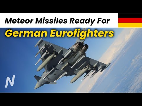German Air Force Declares Meteor Missile Ready for Eurofighter Fleet