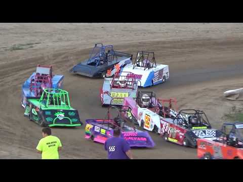 Mini Wedge Feature Race!! 6-9 Year olds, at I-96 Speedway on 08-19-2018!
