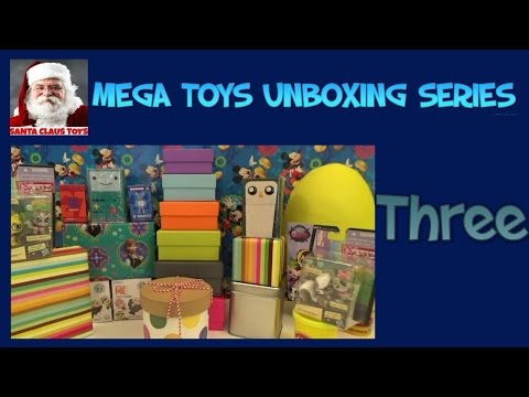 MEGA Toy Unboxing Series -- Part THREE Lego Santa Claus