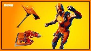 *NEW* VERTEX LEGENDARY SKIN | RAZOR EDGE & FORERUNNER! | Fortnite Battle Royale!