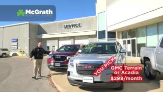 YOU PICK! | McGrath Buick GMC Cadillac