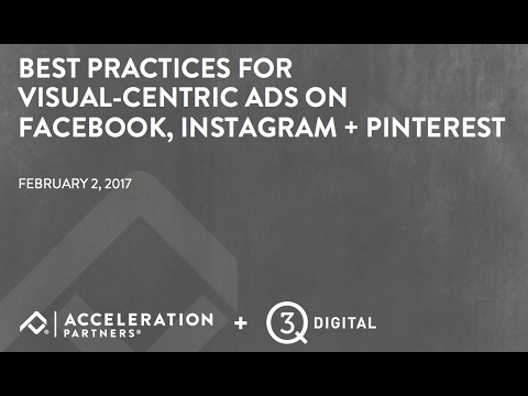 Best Practices for Visual-Centric Ads on Facebook, Instagram