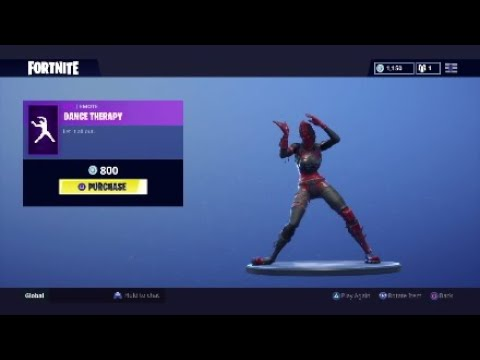 Fortnite Dance therapy 1 hour !