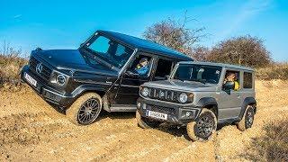 Test: Suzuki Jimny vs. Mercedes G | ÖAMTC