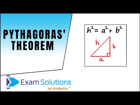 Pythagoras' Theorem : ExamSolutions