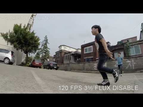 GoPro Studio Flux™ TEST 25% 13% 7% 3% ,able and disable comparison