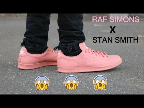 lowest price 8dae0 a12b3 RAF SIMONS X STAN SMITH: Review & What to wear - YouTube