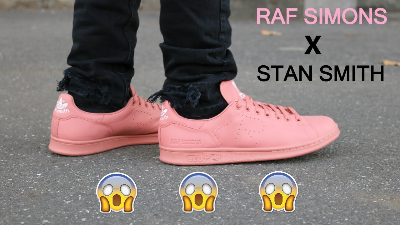 5316aa1bf6c RAF SIMONS X STAN SMITH  Review   What to wear - YouTube