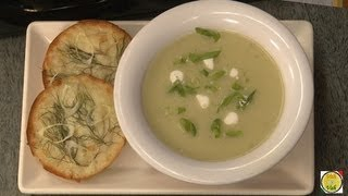 Leek Potato Soup - By Vahchef @ Vahrehvah.com