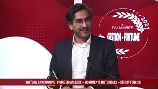 Palmarès des Fournisseurs 2021 - Histoire & Patrimoine