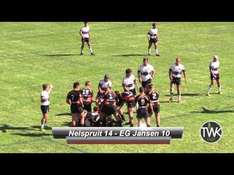 Skolerugby: Tuks-reeks 2016 - 1ste Nelspruit vs EG Jansen 23-04-16