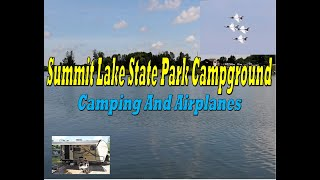 Summit Lake State Pąrk Campground Indiana Thunderbird Jets