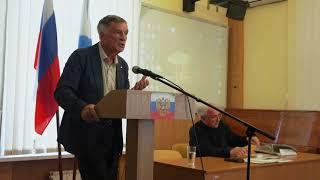 25 мая 2019 г  в Севастопольской Морской библиотеке творческая встреча с Виктором Правдюком