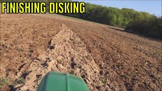 FINISHING DISKING WITH JD 6100D