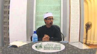 Ustaz Umar Abdul Aziz  Uaa  - Hadith-hadith Tentang Adab Makan  Km 11/3/2016