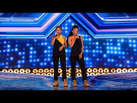 The X Factor UK 2018 Aaliyah  & Acacia K Six Chair Challenge Full Clip S15E11