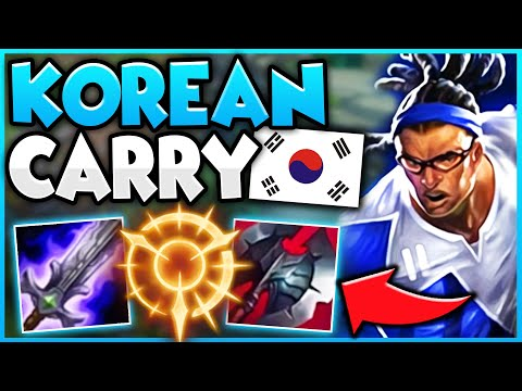 THIS KOREAN LUCIAN BUILD IS SO BUSTED! I SOLO CARRIED THIS GAME WITH THIS STRAT! - League of Legends