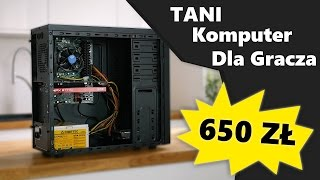 ULTRA tani komputer do gier? TEST PC za 650 PLN!