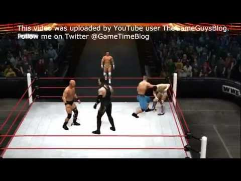 WWE 12 - 40 man Royal Rumble
