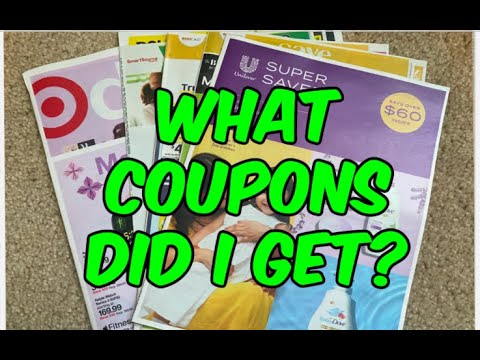 5/2/21 WHAT COUPONS DID I GET?