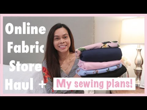 ONLINE FABRIC HAUL | GOOD QUALITY KNIT FABRICS,  MY SEWING PLANS, Sewing Vlogger