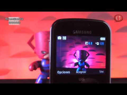 Celular Samsung S3350 (Video Reseña)