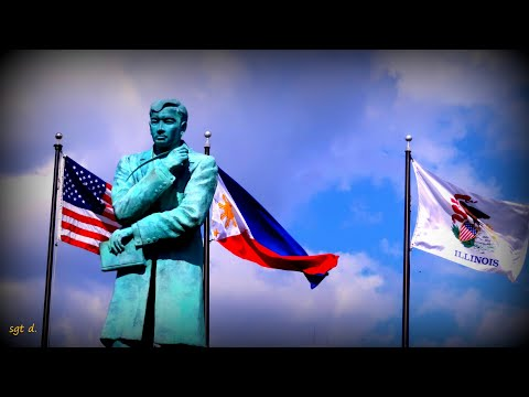 Exclusive short interview with Dr. Evelyn Natividad about Dr. Jose Rizal statue monument in Chicago