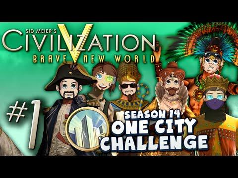 Civ V: One City Challenge #1 -  Saving Private Roger