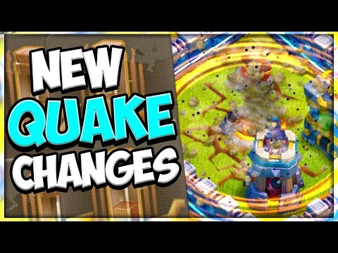 NEW Earthquake Spell Mechanics Explained | Earthquake Spell Vs Walls | Clash Of Clans