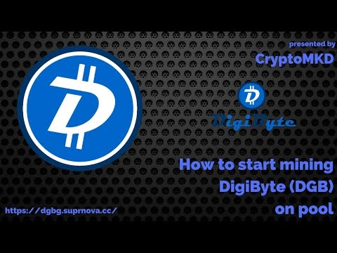 How to start mining DigiByte DGB on pool