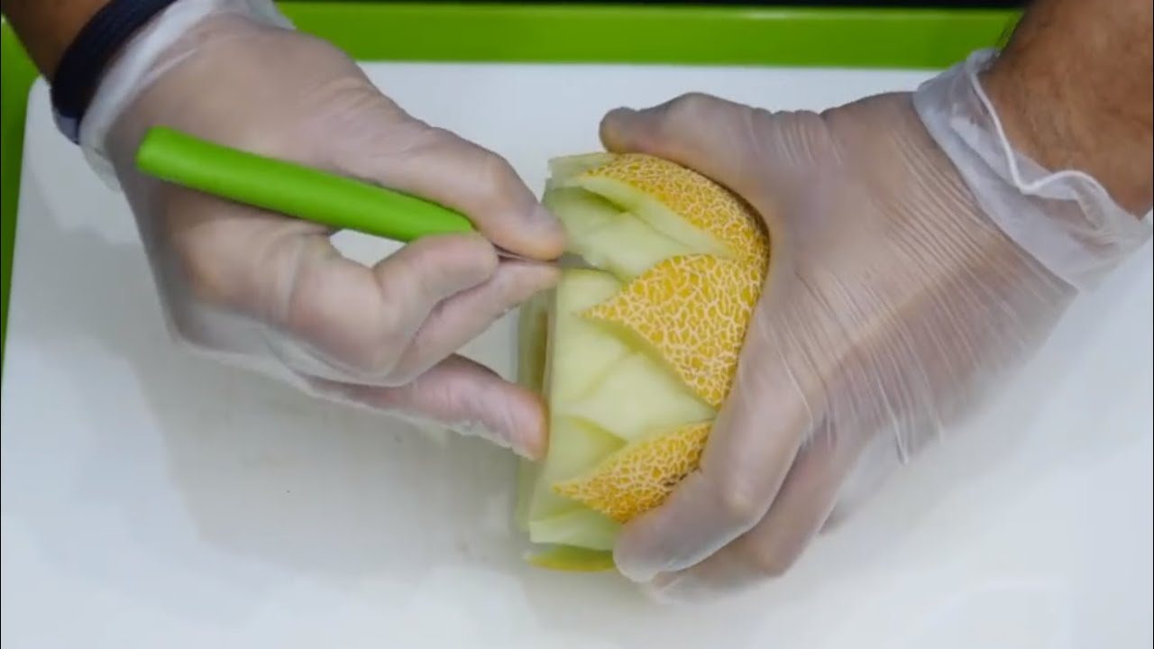 How to cut and decorating fruit carving fruit youtube - How to slice strawberries for decoration ...
