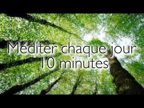 Meditation guidée - 10 minutes chaque jour - En français
