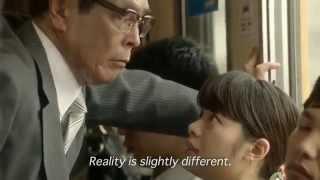 日清カップヌードルTVCM|2014 志賀廣太郎「壁ドン」篇