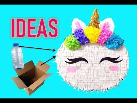 Ideas Piñata De Unicornio