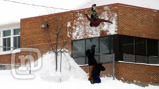 Introducing The Tornado Flip Deja Vu Snowboarding With...