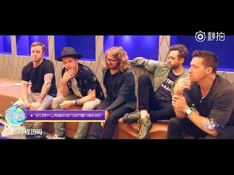 OneRepublic  - interview in Shanghai
