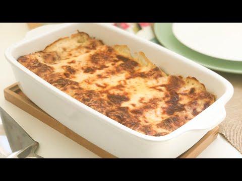 كراطان-الكريب-بصلصة-البولونييز-جداً-لذيذ---وجبة-صيفية-👍🏻-gratin-de-crêpes-à-la-bolognaise-trop-bon