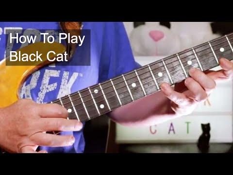 'Black Cat' Janet Jackson Guitar Lesson