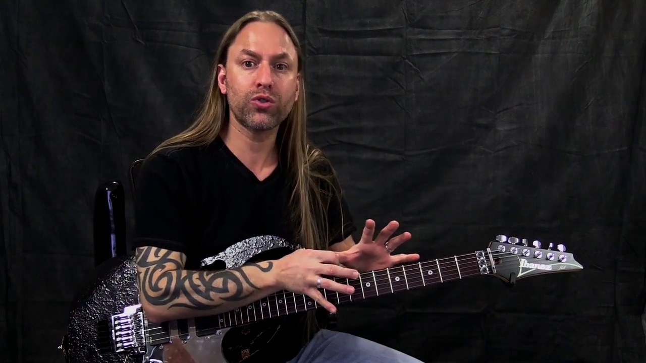 steve stine guitar lesson how to create interest and melodic expression while soloing youtube. Black Bedroom Furniture Sets. Home Design Ideas
