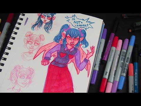 Creating Characters   Sketch Chat